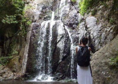 Heiliger Wasserfall